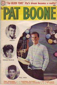 Pat Boone #3 (Feb-60) VG Affordable-Grade Pat Boone