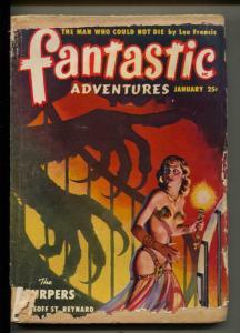 Fantastic Adventures-Pulp-1/1950-Geoff St. Reynard-Berkeley Livingston
