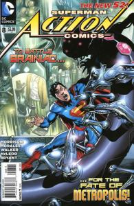 Action Comics (2nd Series) #8 VF/NM; DC | save on shipping - details inside