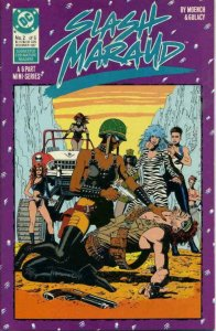 SLASH MARAUD #2, VF/NM, Paul Gulacy, DC, 1987  more DC in store