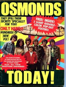 Osmonds Today! 1975-missing pin-up pages-pix-info-P