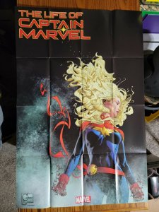LARGE 36 x 24 The Life of Captain Marvel Promo Poster