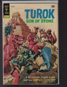Turok, Son of Stone #84 (Gold Key, 1973)