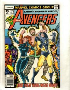 Lot Of 8 Avengers Marvel Comic Books # 173 184 191 202 212 227 (2) 258 Thor RM1