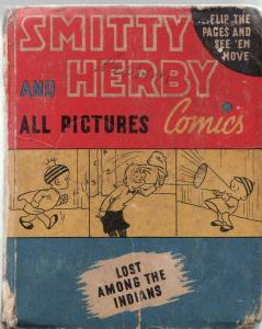 SMITTY AND HERBY LOST AMONG THE INDIANS-BIG LITTLE BOOK G