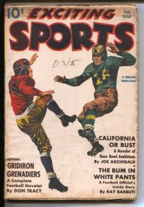 Exciting Sports-Fall 1941-Thrilling-baseball-pulp fiction-Joe Archibald-All-S...
