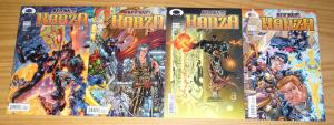 Micronauts: Karza #1-4 VF/NM complete series - jim krueger - steve kurth set