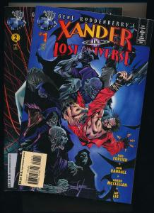 Gene Roddenberry's XANDER in Lost Universe  #1,2 - Tekno Comics ~VF/NM (HX199)