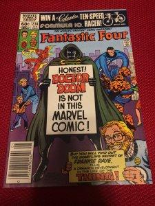 Fantastic Four #238 Marvel (1981) VF+ Origin Frank Raye 1st App. Petunia Grimm