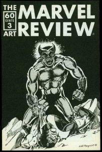 Marvel Review Fanzine #3 1976- Beast - Hulk index VF/NM