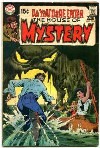 HOUSE OF MYSTERY #185 1969 DC ADAMS  WILLIAMSON  KALUTA- VG/FN
