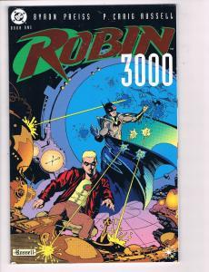 Robin 3000 Book # 1 DC Graphic Novel Comic Book Batman Joker Catwoman Harley S84