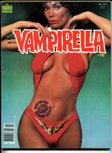 Vampirella #78 1979-Warren-Last Barbara Leigh Vampi photo cover-horror-VF