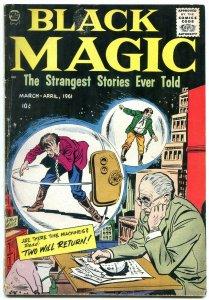 Black Magic V.8 #11961- BOB POWELL DICK AYERS ART-HORROR VG
