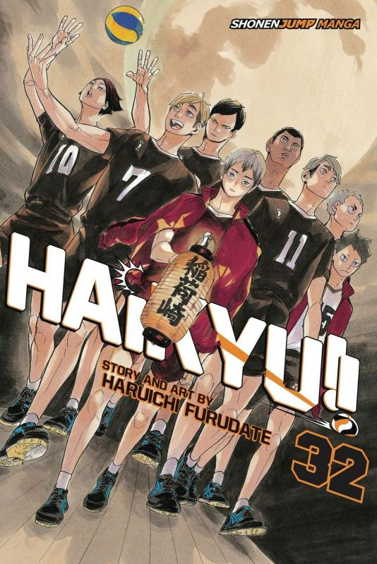 Haikyu!! Graphic Novel Vol 32 (Viz, 2012) New!