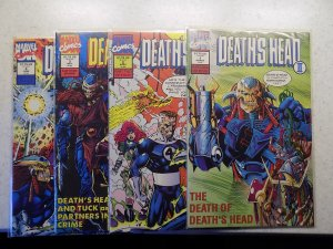 DEATH'S HEAD # 1-4 MARVEL COMPLETE SET VF/NM READ AD FOR SAVINGS