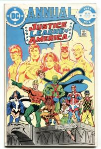 Justice League of America Annual #2-First VIBE and GYPSY 1984 DC VF+