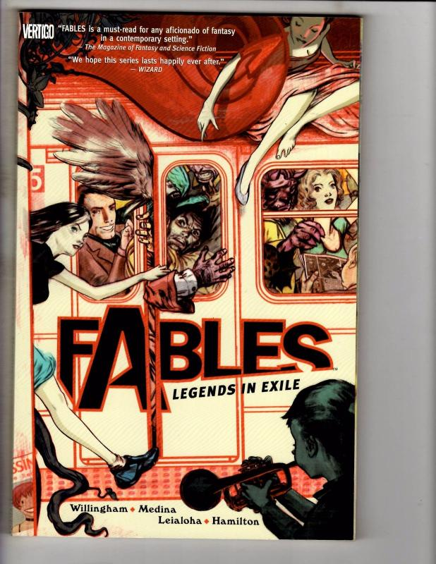 Fables Legends Exile DC Vertigo TPB Graphic Novel Comic Willingham Vol. # 1 J247