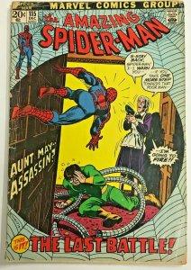 AMAZING SPIDER-MAN#115 GD 1972 MARVEL BRONZE AGE COMICS