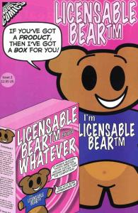 Licensable Bear #2 VF; About Comics | save on shipping - details inside