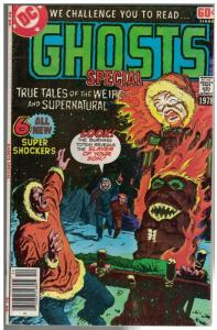 GHOSTS SPECIAL DC SPECIAL SERIES V 1# 7 VG-F