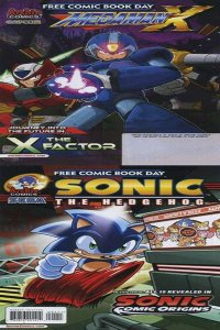 Sonic Comic Origins and Mega Man X: Free Comic Book Day Edition #1, NM (Stock...