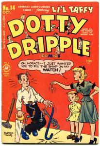 DOTTY DRIPPLE #14 1950-HARVEY-BUFORD TUNE-vf