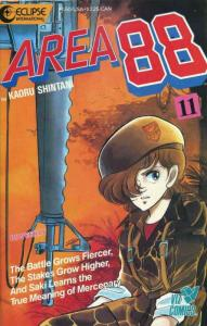 Area 88 #11 VF/NM; Eclipse   save on shipping - details inside
