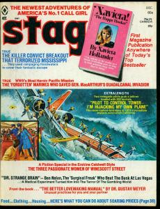 Stag Pulp Magazine December 1973 - Xaviera Hollander the Happy Hooker VG