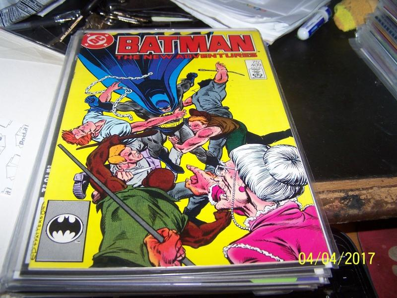 Batman comic # 409 (Jul 1987, DC) new origin jason todd robin II red hood KEY