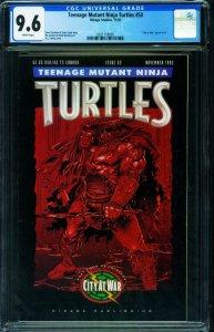 TEENAGE MUTANT NINJA TURTLES #53 CGC 9.6-1992-Later issue-2021118005