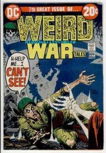 WEIRD WAR Tales #7, FN, Kubert, Heath, Death, Germans, 1971,more Horror in store