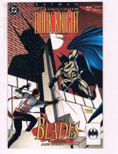 Batman Legends Of The Dark Knight #34 VF DC Comics Blades Comic Book DE16