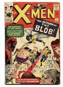 X-men #7 The Blob marvel-magneto-silver-age-1964 VG