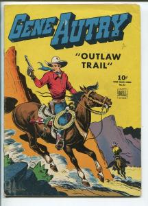 GENE AUTRY FOUR COLOR #83 1945-DELL-TILL GOODAN ART-vg/fn