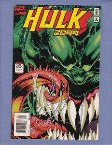Hulk 2099 #2 VF Newsstand Edition Marvel 1995
