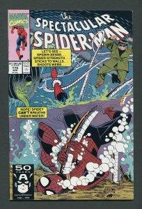Peter Parker,Spectacular Spiderman #175 / 9.0 VFN/NM  April 1991