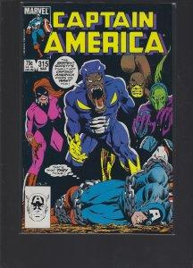 Captain America #315 (1986)