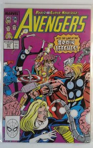 The Avengers #301 (1989) Marvel 8.5 VF+ Comic Book Key 1st Appearance Super-Nova