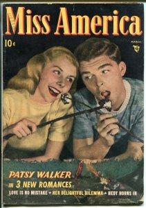 Miss America Vol 7  #8 1948-Timely-Patsy Walker-fashion-VG+
