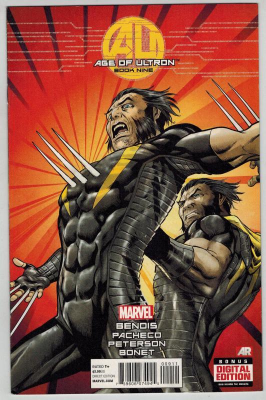 Avengers: Age of Ultron #1-10 Lot of 5Diff Black Widow Wolverine Hawkeye Spidey+