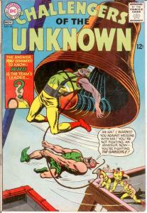 CHALLENGERS OF THE UNKNOWN 46 VG Nov. 1965 COMICS BOOK