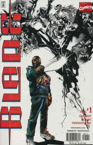 Blade (2nd Series) #1 VF/NM; Marvel | save on shipping - details inside