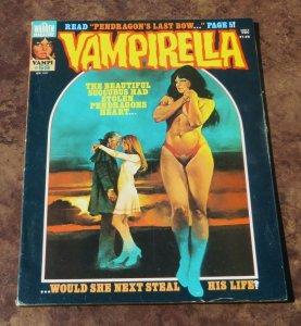 Vampirella #59 VG/FN 1977 Sci-Fi/Horror Magazine Succubus Pendragons Heart