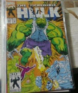 Incredible Hulk  # 397 1992 MARVEL  u foes  ghosts of the past pt 1  leader