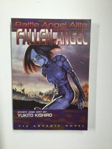 Battle Angel Alita: Fallen Angel Tpb Near Mint Nm Viz Graphic Novel