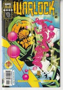 Warlock(M-Tech) # 5   Spiderman ! Psycho Man !