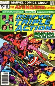 Marvel Triple Action (1972 series) #39, Fine+ (Stock photo)