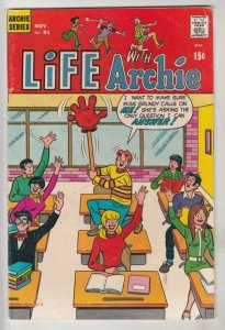 Life with Archie #91 (Nov-69) VF/NM High-Grade Archie, Jughead, Betty, Veroni...