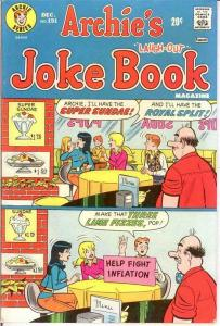 ARCHIES JOKE BOOK (1954-1982)191 F-VF Dec. 1973 COMICS BOOK